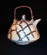 Plaid Tea Pot