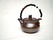 Micro Tea Pot, beaded handle